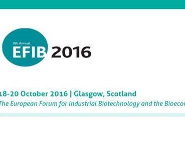 The European Forum for Industrial Biotechnology and the Bioeconomy, 18. – 20.10. 2016