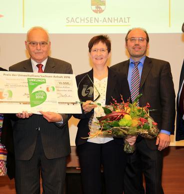 Preis der Umweltallianz Sachsen-Anhalt 2016