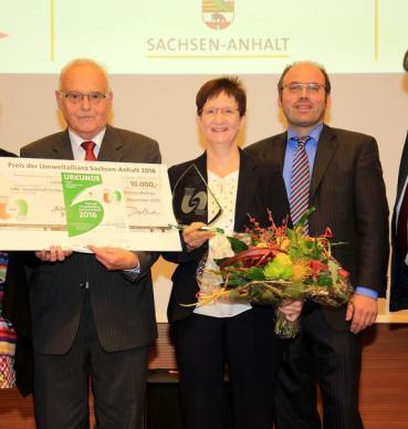 Saxony-Anhalt Environmental Alliance Award 2016