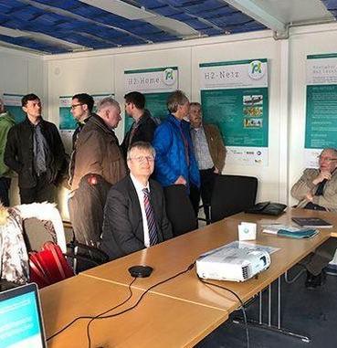 Grüner Wasserstoff braucht sichere Verteilernetze, VDI-Kolloquium am 15.01.2020