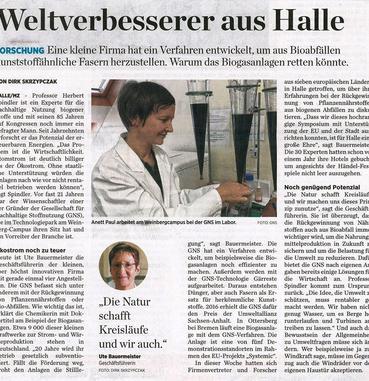 Zeitungsartikel in der Mitteldeutschen Zeitung vom 7. Juni 2019